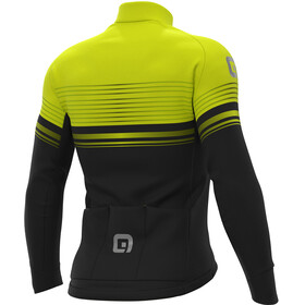 Alé Cycling Graphics PRR Slide Micro Jersey Herren black-fluo yellow
